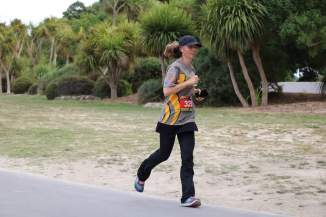Still going strong despite ramping up my kilometres significantly this week. [Pic by Jonesy's Photography.]