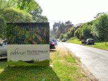 Nice to have permanent signage for a parkrun. Hope Palmy can also get that one day.
