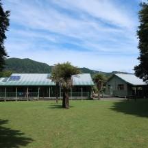 Waiharuru Hut sleeping 40 people.
