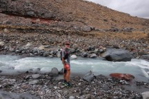 It might not look like much, but this is a pretty scary river crossing.