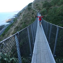 The swing bridges are quite runnable, as long as you get your rhythm right.