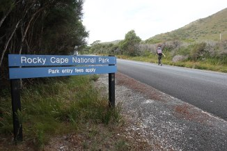 Heading into the Rocky Cape National Park where the sealed road made way for a gravel road.
