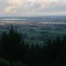 Some good viewpoints: Lake Horowhenua and Levin down below.