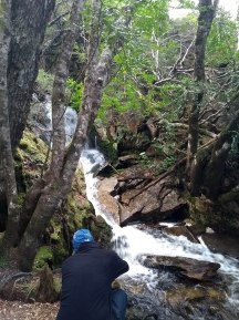 Waterfalls galore on the Overland Track.