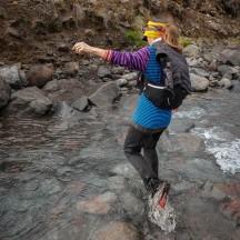Wet feet again, crossing the Mangaturuturu River.
