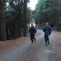 Gerry and Rob on private land, so unfortunately not something runners can recce before the event.