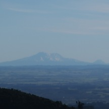 A beautiful morning offering clear views all the way to Mt Ruapehu in the distance.