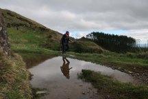 Muddy reflections.