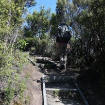 Even steps to make it more accessible to do the Pinnacles scenic loop walk.