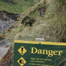 Do not linger...