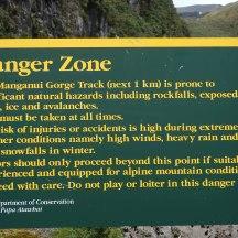 Danger lurking ahead.