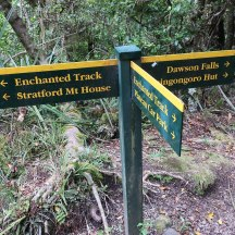 The route is generally very well signposted.