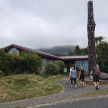 The visitor centre at Dawson Falls.