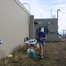 Mt Erin aid station.