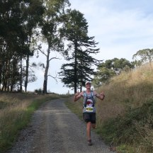 Local hero, Nick Johnston, already on his way to defend his Triple Peaks title.