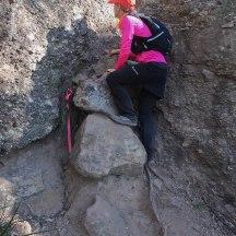 Technical bit on Ironpot Mountain.