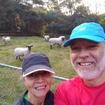 Living out of town makes for a laid-back, rural running experience.